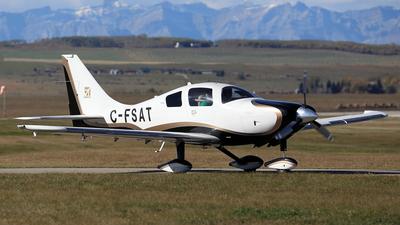 A picture of CFSAT - Lancair LC41550FG - [411008] - © Mike MacKinnon