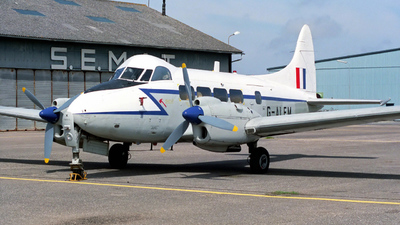 G-ALFM - De Havilland DH-104 Dove 8 - Private