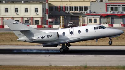 9H-FRM - Dassault Falcon 10 - Private
