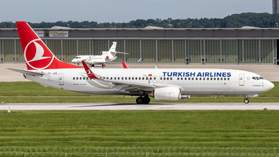 A picture of TCJGS - Boeing 7378F2 - Turkish Airlines - © Steffen Müller
