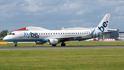 A picture of GFBEF - Embraer E195LR - [19000104] - © Trevor Barker
