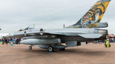 671 - General Dynamics F-16BM Fighting Falcon - Norway - Air Force