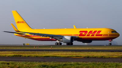 A picture of VHEXZ - Boeing 7673JHF(ER) - DHL - © JacksonAviation
