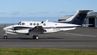 ZK-MDC - Beechcraft B200 Super King Air - Air Wanganui