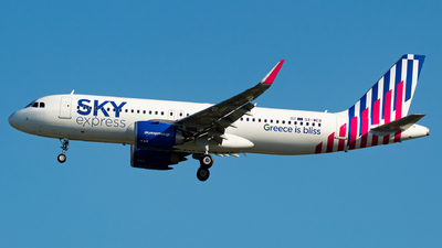 A picture of SXWEB - Airbus A320251N - Sky Express - © Kyan Rossignol
