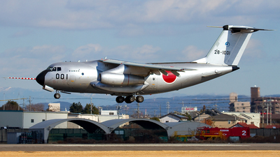 28-1001 - Kawasaki C-1 - Japan - Air Self Defence Force (JASDF)