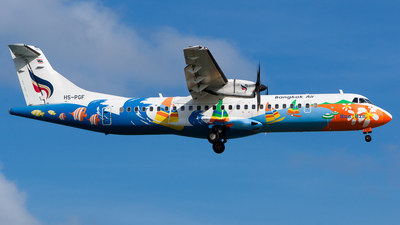 HS-PGF - ATR 72-212A(500) - Bangkok Airways