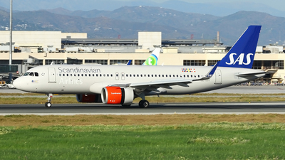 SE-DOY - Airbus A320-251N - Scandinavian Airlines (SAS)
