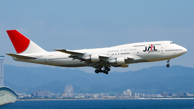 JA813J - Boeing 747-346 - Japan Airlines (JAL)