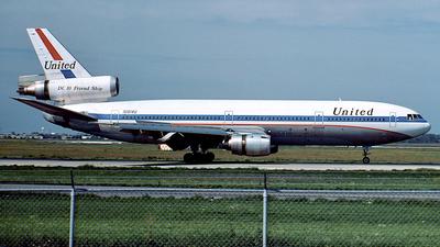 N1814U - McDonnell Douglas DC-10-10 - United Airlines
