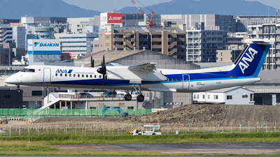 A picture of JA841A - De Havilland Canada Dash 8400 - All Nippon Airways - © Yukio023