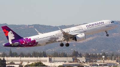 N205HA - Airbus A321-271N - Hawaiian Airlines