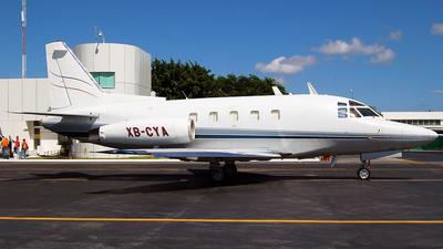 XB-CYA - North American Sabreliner 80 - Private
