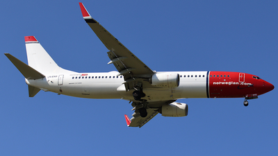 LN-ENS - Boeing 737-8JP - Norwegian
