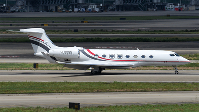HL8299 - Gulfstream G650 - Aero Pacific Flightlines