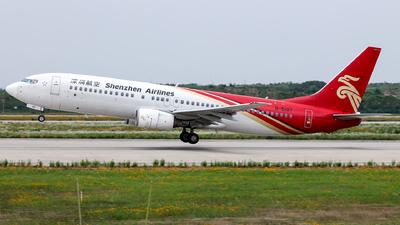 B-5187 - Boeing 737-8BK - Shenzhen Airlines