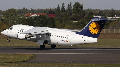 D-AVRJ - British Aerospace Avro RJ85 - Lufthansa Regional (CityLine)