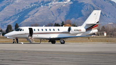 N396QS - Cessna 680 Citation Sovereign - NetJets Aviation