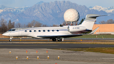 C-FYRC - Gulfstream G650ER - Private