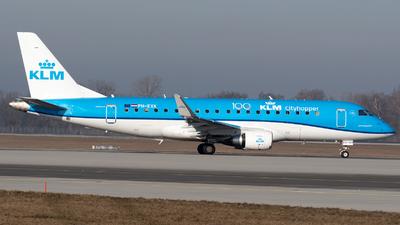 A picture of PHEXK - Embraer E175STD - KLM - © Thomas Ernst