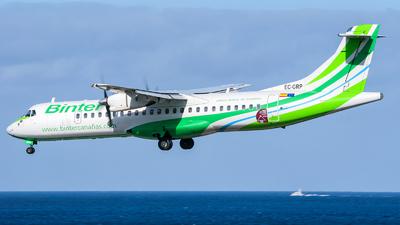 EC-GRP - ATR 72-202 - Binter Canarias