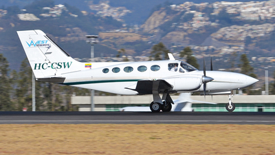HC-CSW - Cessna 421C Golden Eagle - West Airways