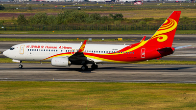 B-1141 - Boeing 737-84P - Hainan Airlines