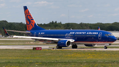 N827SY - Boeing 737-8F2 - Sun Country Airlines