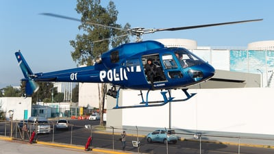 XC-CDM - Eurocopter AS 355N Ecureuil 2 - Mexico - Police