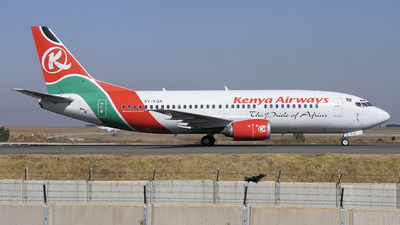 5Y-KQA - Boeing 737-3U8 - Kenya Airways