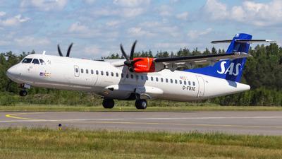 G-FBXE - ATR 72-212A(600) - Scandinavian Airlines (Flybe)
