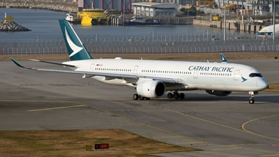 A picture of BLRU - Airbus A350941 - Cathay Pacific - © eyey328