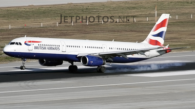 G-EUXH - Airbus A321-231 - British Airways