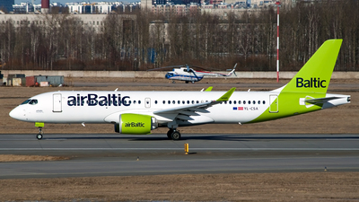 A picture of YLCSA - Airbus A220300 - Air Baltic - © Ivan Goreza