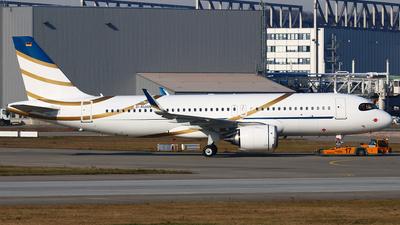 D-AUAN - Airbus A320-251NCJ - Private