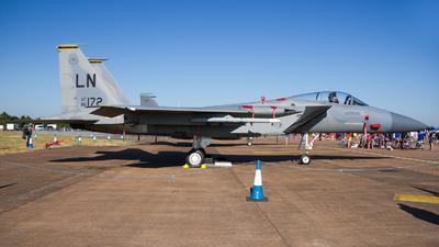 86-0172 - McDonnell Douglas F-15C Eagle - United States - US Air Force (USAF)