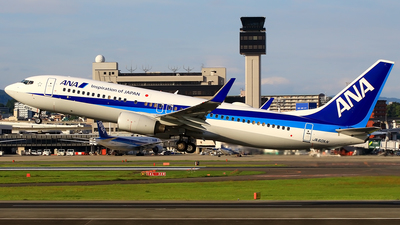 JA60AN - Boeing 737-881 - All Nippon Airways (ANA)