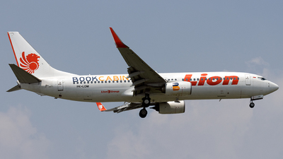 A picture of PKLOM - Boeing 7378GP - Lion Air - © Hafit Irawan