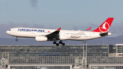 A picture of TCJNN - Airbus A330343 - Turkish Airlines - © Sebastian Sowa