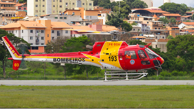 PR-BOA - Helibrás AS-350B2 Esquilo - Brazil - Military Firefighters