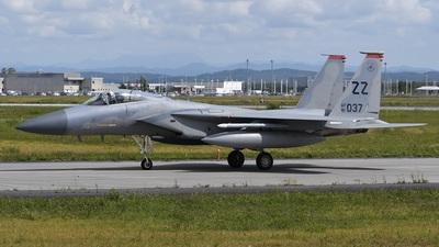 81-0037 - McDonnell Douglas F-15C Eagle - United States - US Air Force (USAF)