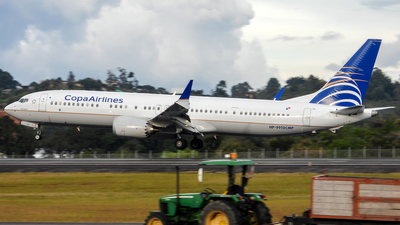 HP-9912CMP - Boeing 737-9 MAX - Copa Airlines