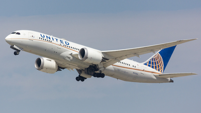 A picture of N27903 - Boeing 7878 Dreamliner - United Airlines - © Jay Cassady
