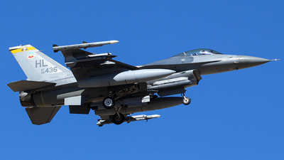 88-0436 - General Dynamics F-16CM Fighting Falcon - United States - US Air Force (USAF)