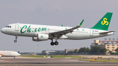 B-8581 - Airbus A320-214 - Spring Airlines
