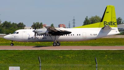 YL-BAR - Fokker 50 - Air Baltic