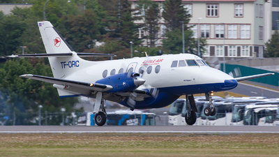 A picture of TFORC - BAe Jetstream 32 - Eagle Air Iceland - © Bianca Renz