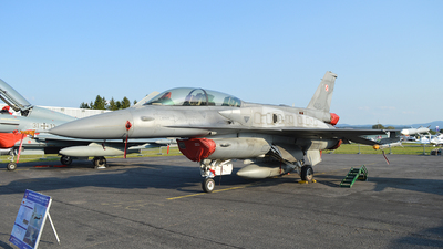 4081 - Lockheed Martin F-16D Fighting Falcon - Poland - Air Force