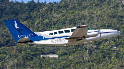A picture of N36911 - Cessna 402C - Cape Air - © Wordpress