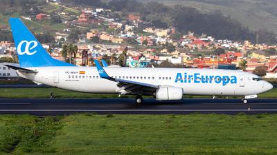A picture of ECMVY - Boeing 73785P - Air Europa - © Martín Marrero Hdez